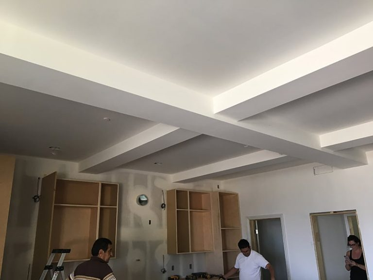 Starting painting project for kitchen