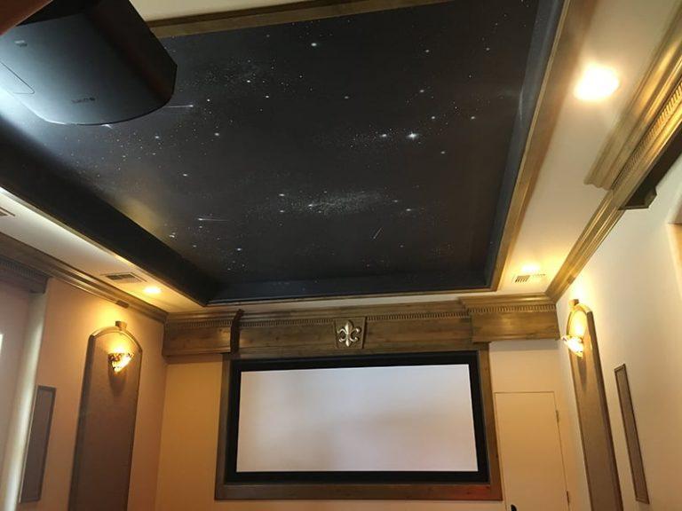 Ceiling stars custom painting