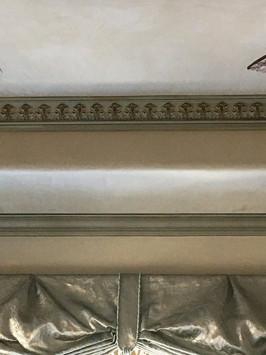 Crown molding custom paint