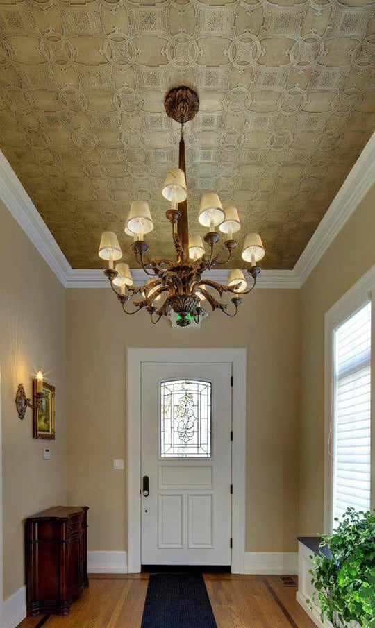 Cieling faux finish painting