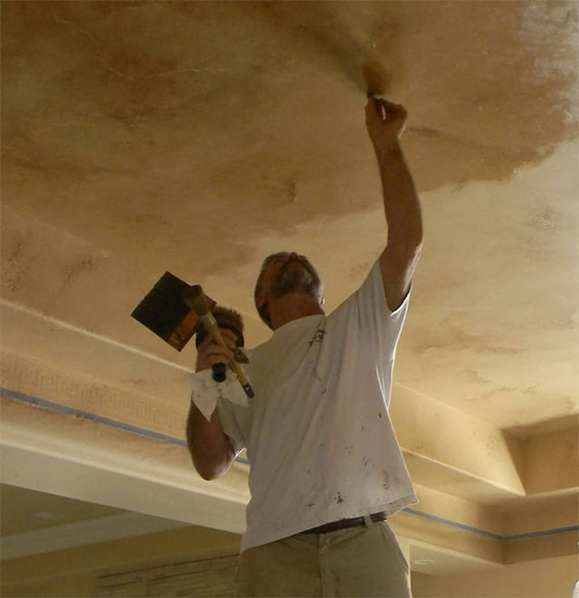 Craig Painting Ceiling