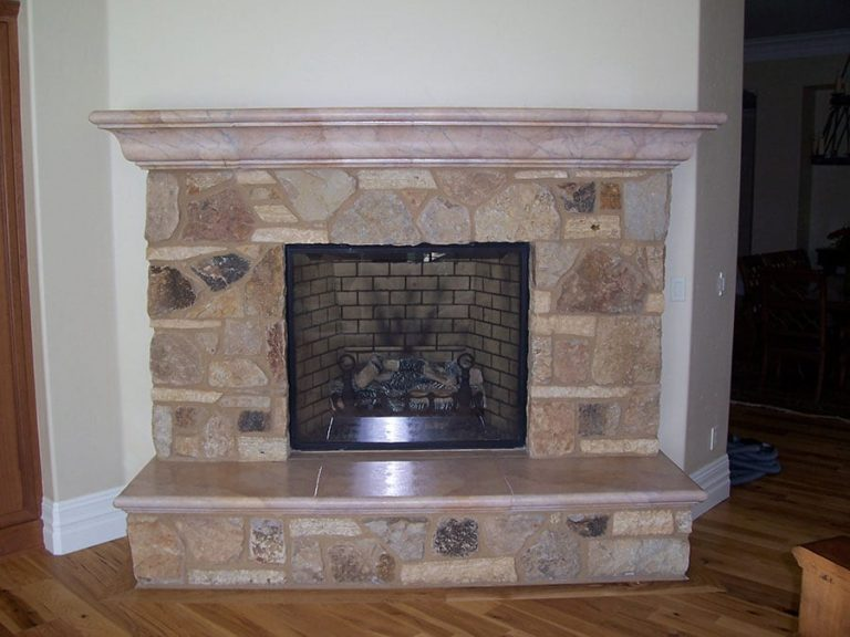 Chimney Faux Marble